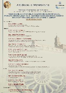 Presentazione dei lavori nella Cattedrale di Matera - Matera