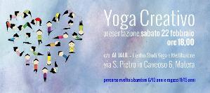 Presentazione del corso: Yoga Creativo  - Matera