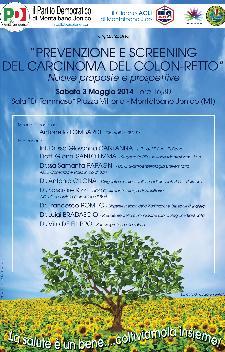 Prevenzione e Screening del carcinoma del Colon - Retto - 3 Maggio 2014 - Matera