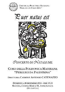 Puer Natus Est - Concerto di Natale - 28 Dicembre 2014 - Matera