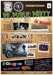 RE-PUBLIC PARTY  - Matera