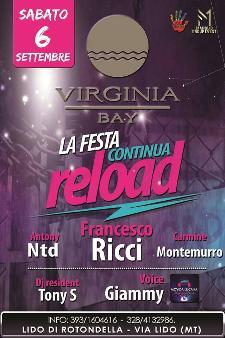 RELOAD - La Festa Continua - 6 settembre 2014 - Matera