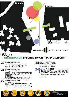 Rigenerazione urbana di piazza olmi  - Matera