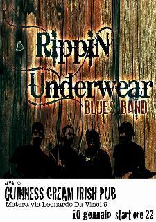 Rippin Underwear Blues Band - 10 Gennaio 2014 - Matera