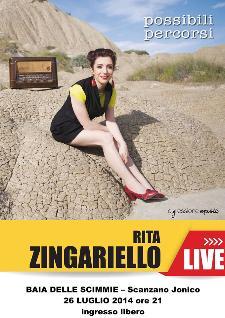 Rita Zingariello live  - Matera
