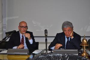 Salvatore Adduce e Antonio Bassolino - Matera