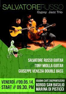 Salvatore Russo Gypsy Jazz Trio - 9 Maggio 2014  - Matera