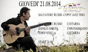Salvatore Russo Gypsy Jazz Trio - 21 Agosto 2014 - Matera