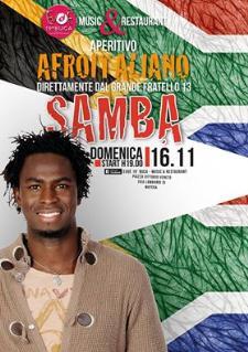 Samba all'Evoè 19a Buca - Matera