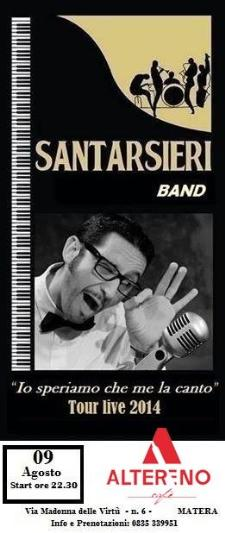 Santarsieri band - 9 Agosto 2014 - Matera
