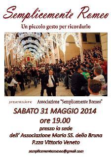 Semplicemente Romeo - 31 maggio 2014 - Matera