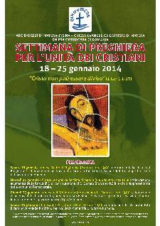 Settimana di preghiera per l'unità dei cristiani  - Matera