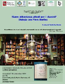 Siamo abbastanza attuali per i classici? Dialogo con Piero Dorfles - 10 settembre 2014 - Matera