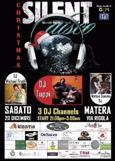Silent disco-Christmas - 20 Dicembre 2014 - Matera