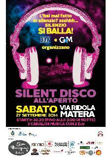 SILENT DISCO - 27 settembre 2014 - Matera