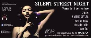 Silent Street Night Party - 12 settembre 2014 - Matera
