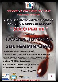 Solo per te - 28 Novembre 2014 - Matera