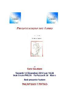 Storia indecente di Carlo Gaudiano - Matera