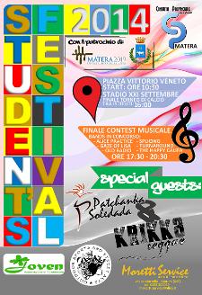 Student's Festival 2014 - 24 Maggio 2014 - Matera