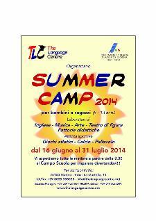 Summer camp - Scuola estiva  - Matera