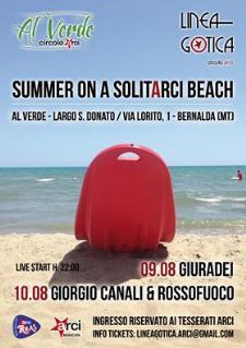 Summer on a solitARCI beach  - Matera
