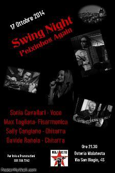 Swing Night - Concerti d'Osteria - 17 Ottobre 2014 - Matera