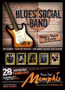 The Blues Social Band  - 28 Febbraio 2014 - Matera