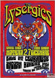 The LYSERGICS  - 27 Dicembre 2014 - Matera