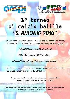"""Torneo di calcio balilla """"S. Antonio 2014"""" - 13 Giugno 2014 - Matera"""
