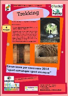 """Trekking del 4 maggio la """"Gravina sotterranea""""  - Matera"""