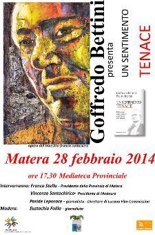 Un Sentimento Tenace - 28 Febbraio 2014 - Matera