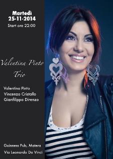 Valentina Pinto Trio - 25 Novembre 2014 - Matera
