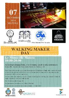 Walking Maker Day  - Matera