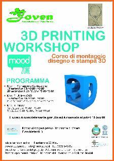 WORKSHOP SULLA STAMPA 3D A MATERA  - Matera