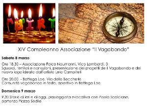"""XIV compleanno """"Il Vagabondo""""  - Matera"""