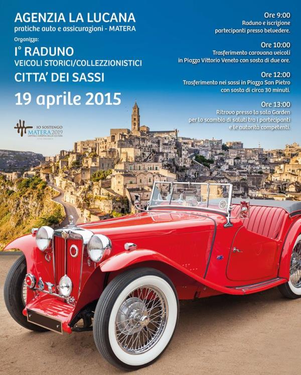 1° Raduno veicoli storici città dei Sassi - 19 Aprile 2015