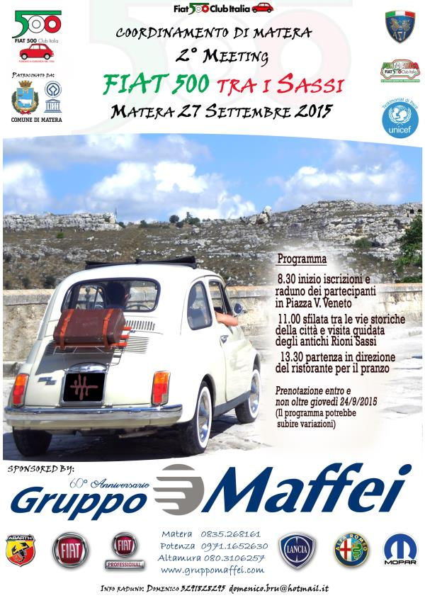 2° Meeting Fiat 500  - 27 Settembre 2015