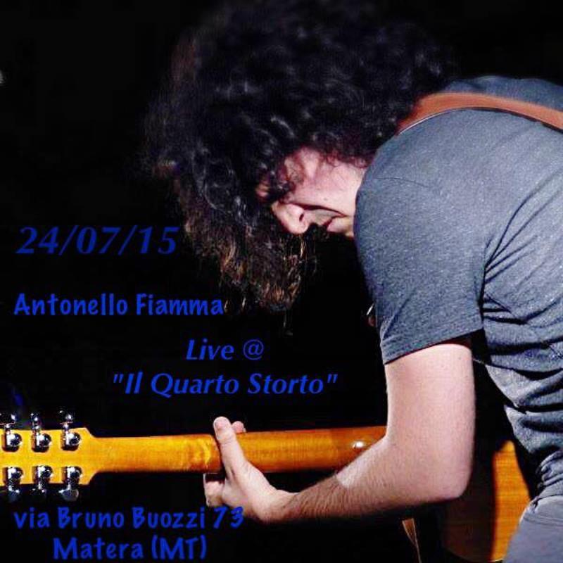 Antonello Fiamma in concerto - 24 Luglio 2015