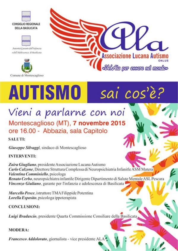 Autismo: sai cos´è? Vieni a parlarne con noi - Congresso