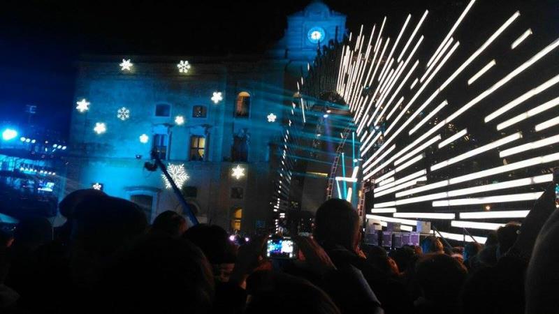Capodanno in Piazza Vittorio Veneto (foto Sassiland)