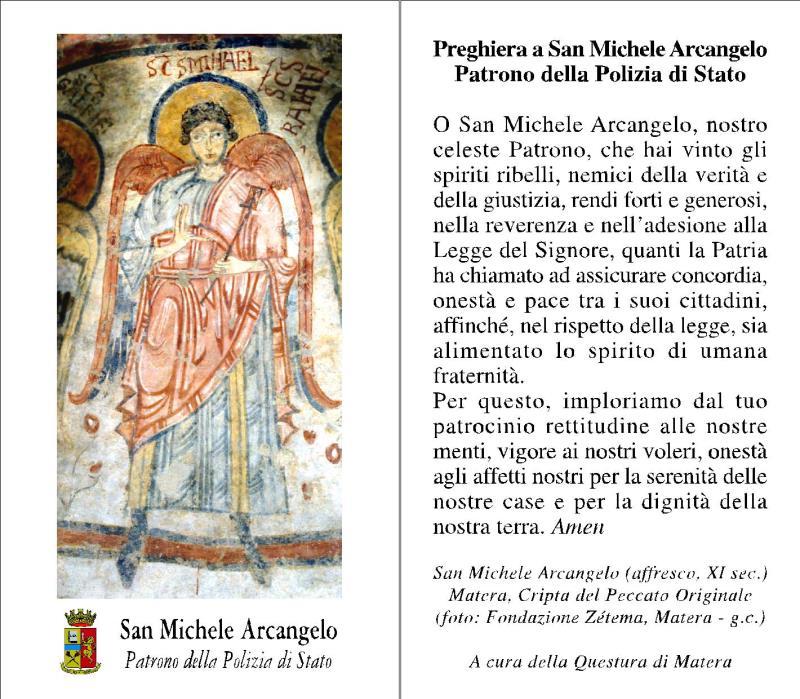 Celebrazioni di San Michele Arcangelo