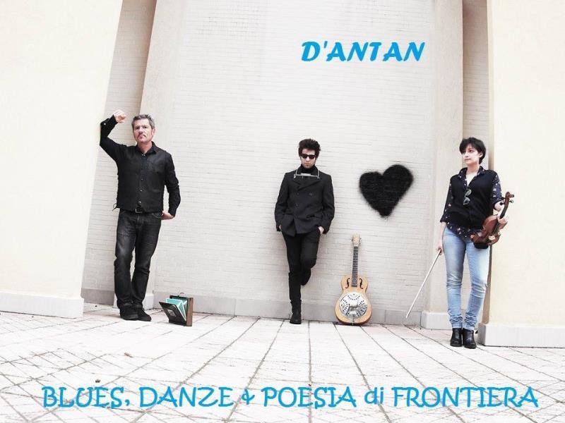 Concerti d´osteria: d´antan- blues danze & poesie di frontiera - 6 Marzo 2015