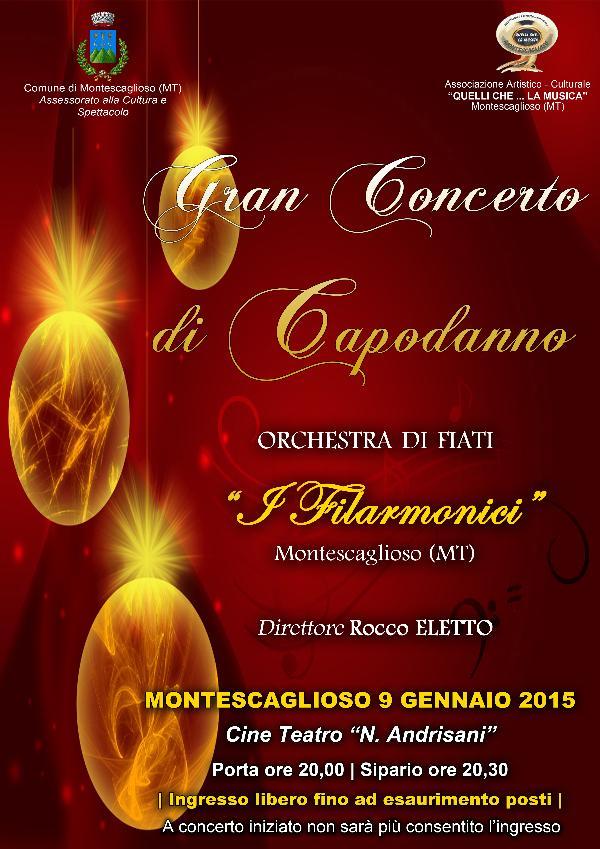 """Concerto di Capodanno - Orchestra di Fiati """"I FILARMONICI"""""""
