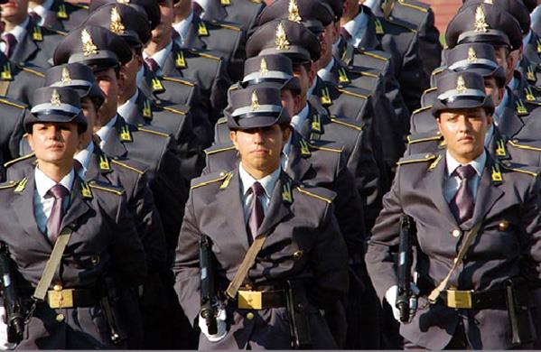 Foto Allievi Guardia di Finanza