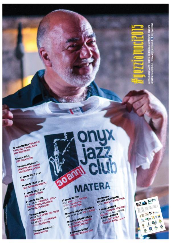 Gezziamoci, il Jazz Festival di Basilicata XXVIII edizione