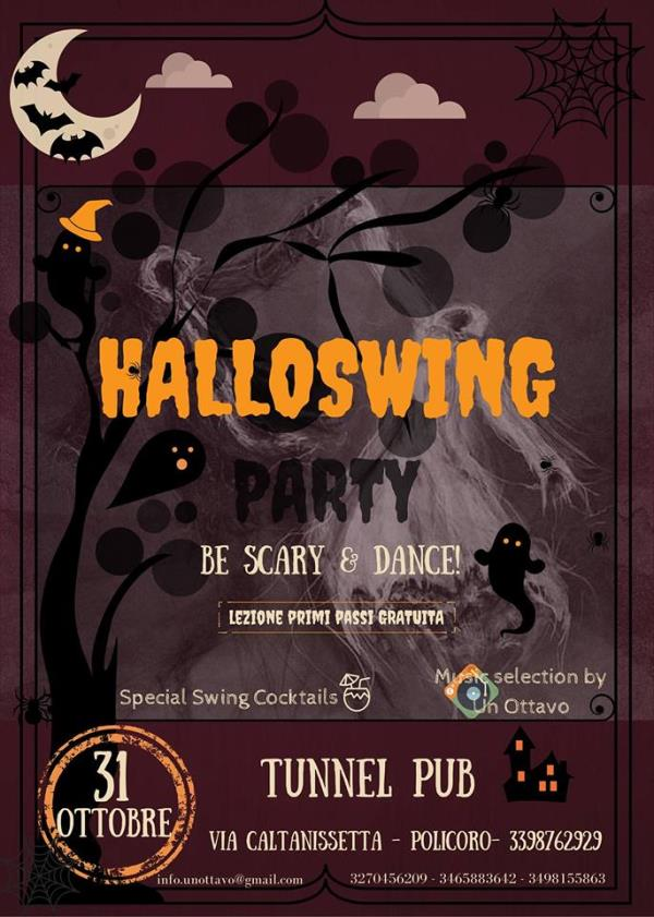 Halloswing party
