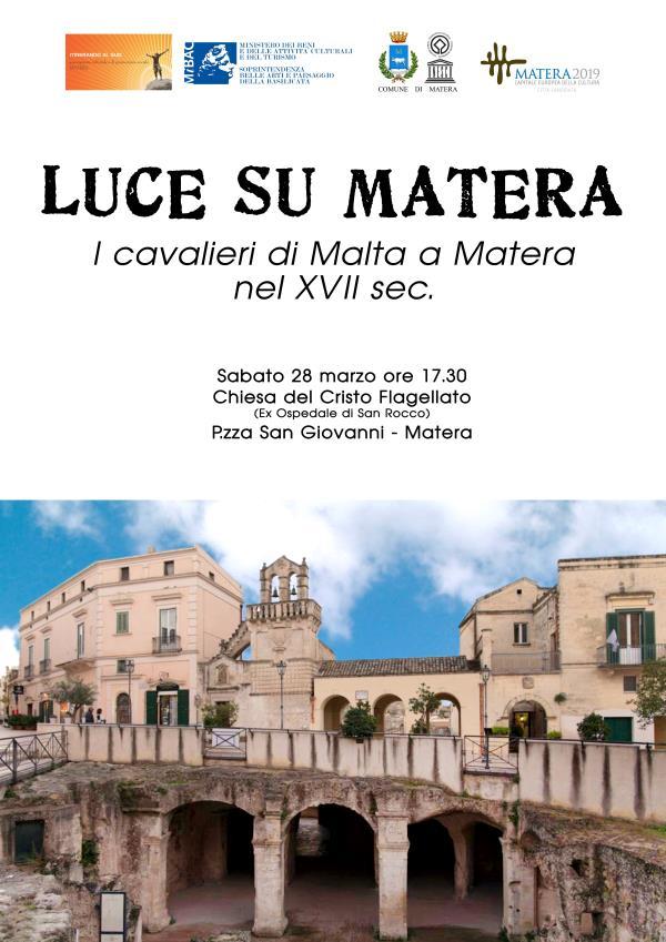 Luce su Matera 2015 - 28 Marzo 2015