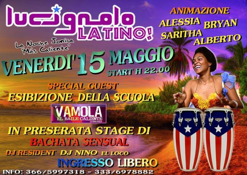 Lucignolo latino - 15 Maggio 2015