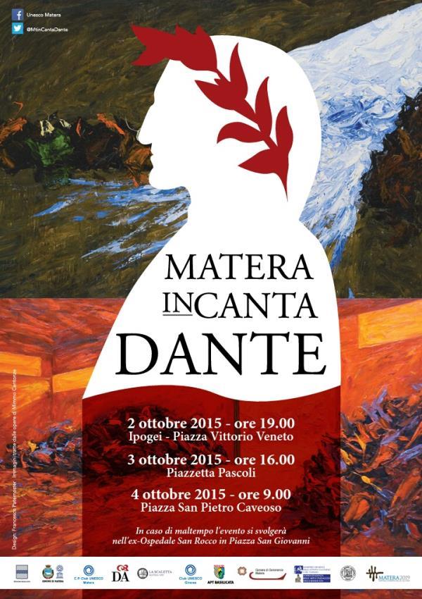 Matera inCanta Dante