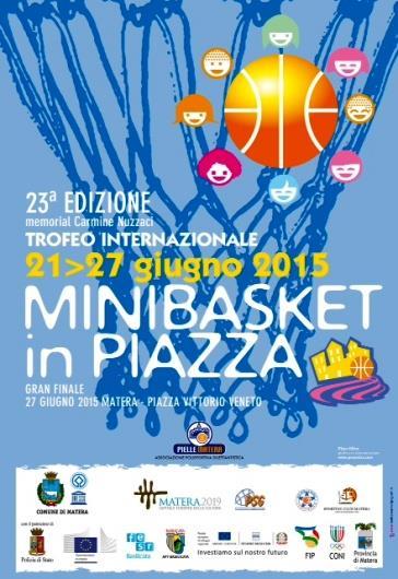 Minibasket In Piazza 2015